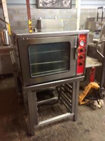 Fan assisted convection oven