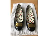 Marc by Marc Jacobs black ballet flats size 5 UK- Will listen to reasonable offers