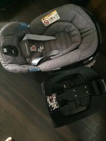 Mothercare car seat and isofix for sale