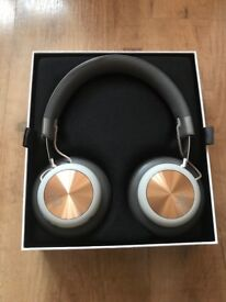 B&O PLAY by Bang & Olufsen Beoplay H4 Wireless Bluetooth Over-Ear Headphones, Charcoal Grey