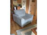 Almost brand new DFS Lomax armchair. Perfect condition