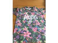 Girls hype tshirt age 11-12