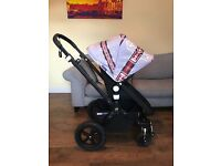 Pram Bugaboo Cameleon3 black frame EXCELLENT CONDITION with extras!