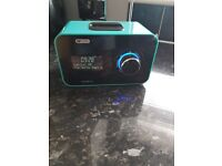 (Green Only) Dab digital radio with ipod docking. Selling in bulk. R.R.P £99.99 in Argos