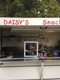 Burger Van with Pitch ready to go business