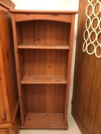 Wooden Bookshelves.