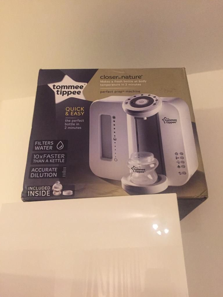 Tommee Tippee Closer to Nature Perfect Prep Machine Ex Condition
