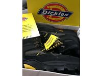 Men's Boots - Dickies Epson Hiker FD23380, Size 8, Brand New in Black