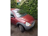 Fork KA 1.3 Petrol 2002 Low mileage Very good inside and out MOT failure For spares or repair
