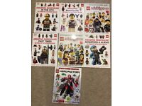 Lego sticker books - brand new