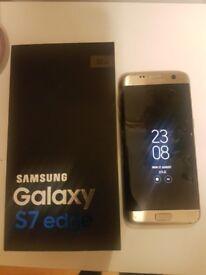BARGAIN SAMSUNG GALAXY S7 EDGE 32GB GOLD PLATINUM