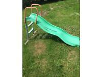 Slide and mini trampoline for sale