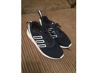 Like new Adidas Flux - size 5.5 - navy blue