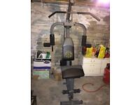 Top quality full workout gym. £70 ovno