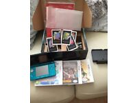 AS NEW 3 DS WITH CHARGER PEN AND GAMES