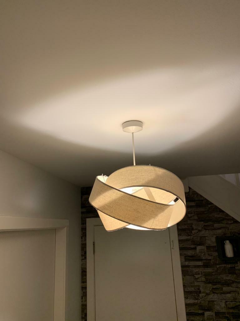 Ceiling Light Shades X2 But Will Sell Separate Light Grey Still Selling In