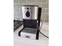 Espresso / Latte / Cappuccino Cofee Machine - Silver