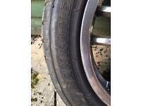 Nankang Sport NS1 195 50 15 tyres x2