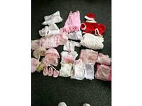 Baby girls clothes. 0 to 3 months