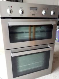 Built in Zanussi Double Oven with Grill. Very good condition.