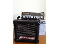 Roland Micro Cube guitar amp. , mains/batteries