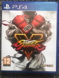 Street fighter V (16) street fighter 5 (16)ps4 game games