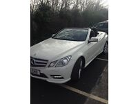 2012 Mercedes Benz E-class convertible E220 diesel automatic £15,995 may px cash either way