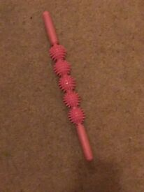 Pink muscle roller