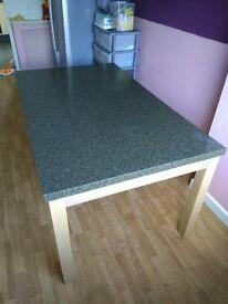 Beautiful Granite top Dining Table