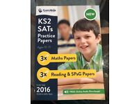 Never Used Exam Ninja KS2 SATs Practise Papers Maths / Reading SPaG Papers for ages 10-11