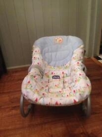 Chicco bouncy chair great condition