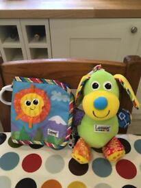 Lamaze Dog and Book