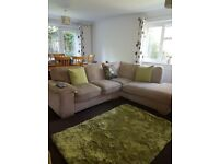 NEXT GREEN COSY RUG - EXCELLENT CONDITION