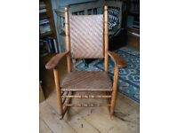 Antique Rocking Chair US Morris Style