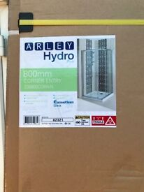 Brand new in box shower screen