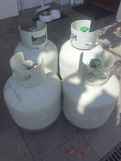 Gas Bottles, x 4, 8.5kg, BBQ, Outdoor Heaters, Great Condition Abbotsford Yarra Area Preview
