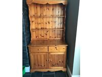 Solid Pine Welsh Dresser Perfect for Upcycling Projects