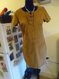 HOLISTER SUEDE 60S DRESS SIZE S