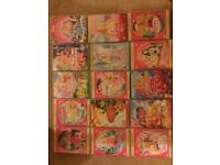 Collection of 15 Barbie movies.