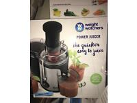 Weight watchers power juicer
