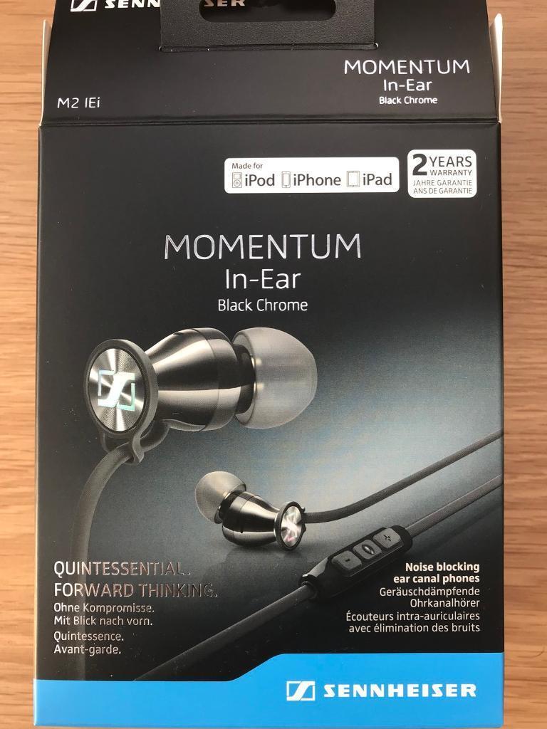 Sennheiser Momentum Free Wired In Ear Headphones North I