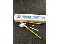Pipe bender by bend it now 15-22mm BOXED VERY LITTLE USE £35 ONLY