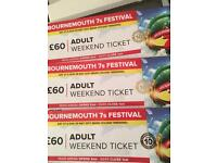 Bournemouth 7's sports festival weekend tickets