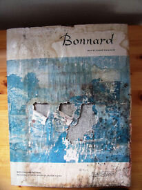 Bonnard h/back book.128 repros. 49 colour & 79 b&w plates. 160 pages. ISBN 0 500 09067 X. £3 ovno.