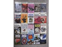 20 different Agatha Christie paperbacks - save £50+ on Kindle prices