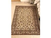 Victorian Floral Rug, WAS £80 Now £60
