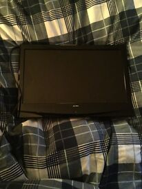 Good Condition Small Black Television. About 20inch in size.