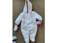 0-3 snow suit