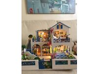 Beautiful holiday themed doll house - craft item