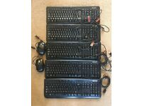 5x Microsoft Keyboard 600 and 2x Microsoft Mouse